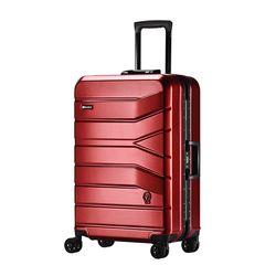 프레지던트 PJ8173 24인치 레드 캐리어 여행가방