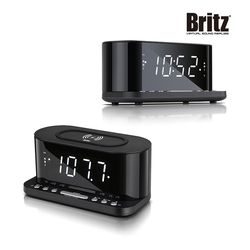 브리츠 BZ-Q110 CR  시계알람 라디오 무선 충전기