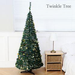 3초 완성 트윙클 트리 - 그린 180cm 크리스마스 트리 무장식트리