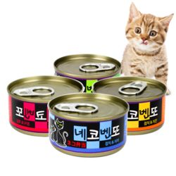 고양이간식 네코벤또 참치캔 80g 24개입