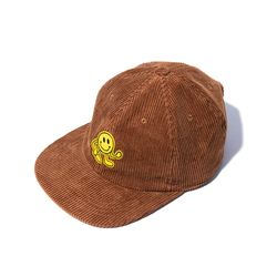 Dancing Smile FAT CORDUROY CAP (maroon)