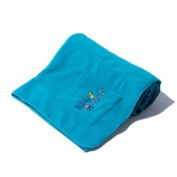 Fleece Pocket BLANKET (turquoise)