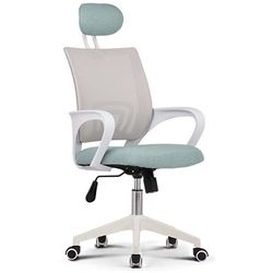 709 WHITE FRAME HEAD 사무실 학생 책상 의자