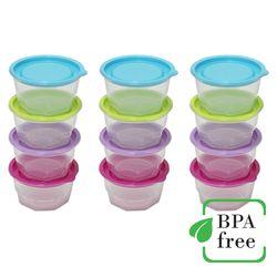 국내생산 밥보관용기 350ml16개입 BPA프리 밀폐용기 반찬통