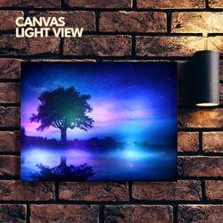 LED액자 캔버스라이트뷰 - 몽환의숲