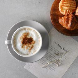 도톰 카푸치노잔 커피잔 세트 250ml