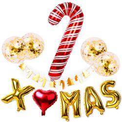 커다란 지팡이 크리스마스 파티용품세트