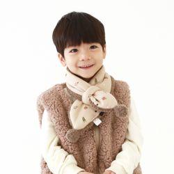 아동 유아 몽몽 머플러 양털 폼폼이 목도리
