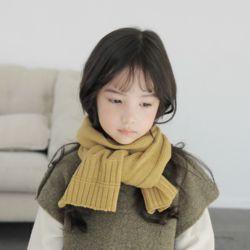 아동 유아 츄잉 머플러 니트 뜨개질 목도리