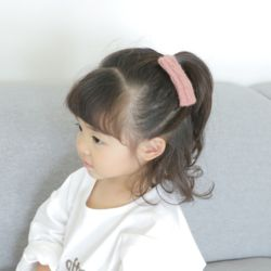 아동 유아 니트 헤어핀 머리핀 똑딱핀