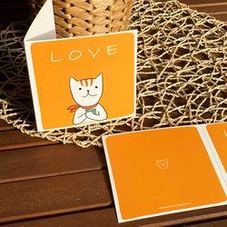 LOVE 일러스트 카드