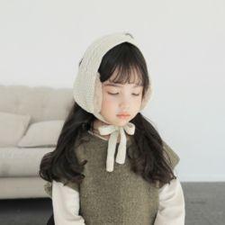 아동 유아 포그니 귀도리 니트 목도리 머플