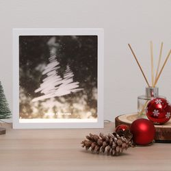 LED 프레임 크리스마스 조명(A.B타입)