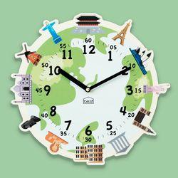 원더타임시리즈-세계의 랜드마크 무소음벽시계