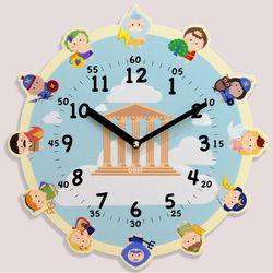 원더타임시리즈-올림포스 12신 무소음벽시계