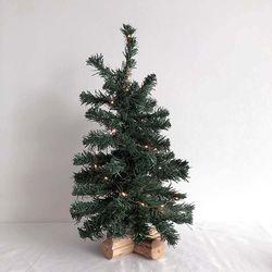 심플우드받침 크리스마스 트리