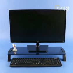 아이정 스마트독컴팩트 모니터받침대 C683 블랙유리블랙