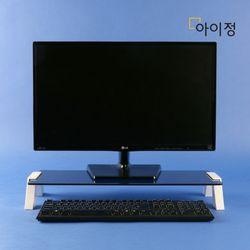 아이정 스마트독컴팩트 모니터받침대 C676 블랙유리화이트