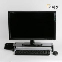아이정 스마트독브릿지 모니터받침대 S348 블랙유리블랙