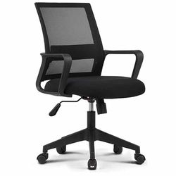 801 BLACK FRAME 사무실 학생 책상 의자