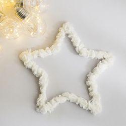 밍크 털 철사(별)-소