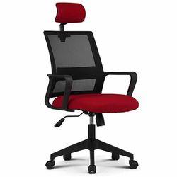 801 BLACK FRAME HEAD 사무실 학생 책상 의자