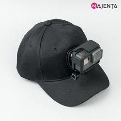 마젠타 고프로 액션캠 캡 마운트 모자