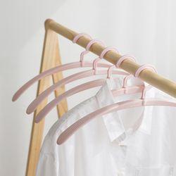 라이프썸 라운드핏 옷걸이 핑크 5P (LFS-SS02)