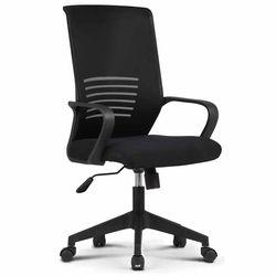 809 BLACK FRAME 사무실 학생 책상 의자