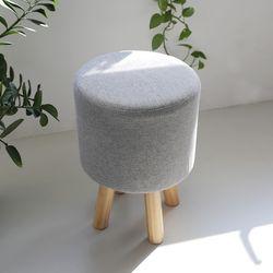 캘리 원목 스툴 화장대 의자 SMF015