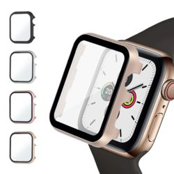 애플워치 액정보호 컬러 메탈 케이스