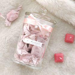 미니 캔디 캔들 15P(핑크-러블리)