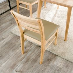 마나 원목 식탁 의자
