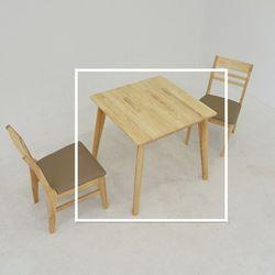 마나 원목 2인 식탁 테이블