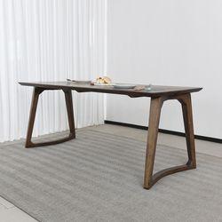 슈틸 고무나무 원목 식탁 테이블 4인
