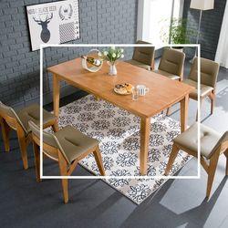 파고 원목 6인 식탁 테이블