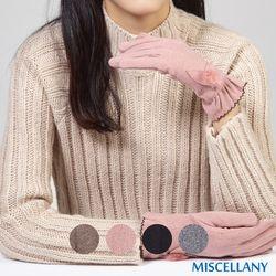 미셀라니 레이스 셔링 슈 터치장갑 간절기에 좋은 두께 4color