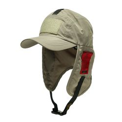 WASHED TECH FISHING CAP OLIVE