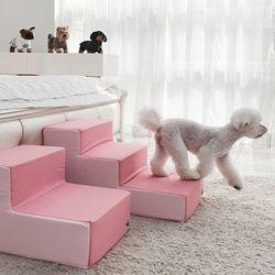 강아지계단 침대 발판 3단 클리니스