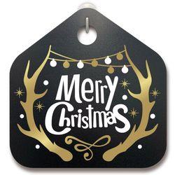 크리스마스알림판루돌프 사슴 뿔