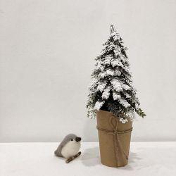 크라프트 크리스마스 눈트리