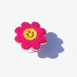 Smile Flower Smart Tok - Pink  스마일 플라워 스마트톡  핑크