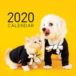 [1+1] 2020년 펫앤스토리 강아지&고양이 벽걸이달력