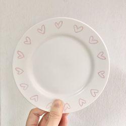 하트 뿅뿅 접시