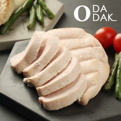 오다닭 닭가슴살 염분무첨가 저염분 100g 80팩