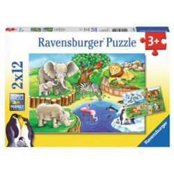 라벤스부르거  동물원 직소퍼즐 12피스 2종
