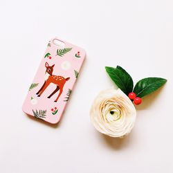 Oh My Deer Pink for phonecase 카드범퍼케이스 (전기종)
