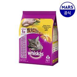 [무료배송] 위스카스 포켓 닭고기 3kg