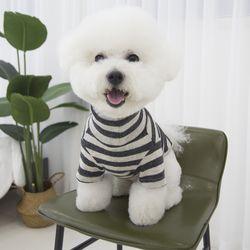 올데이 단가라 반폴라 강아지옷 애견 실내복 차콜