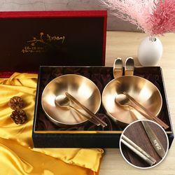 순수담 방짜유기 면기 선물세트 3호